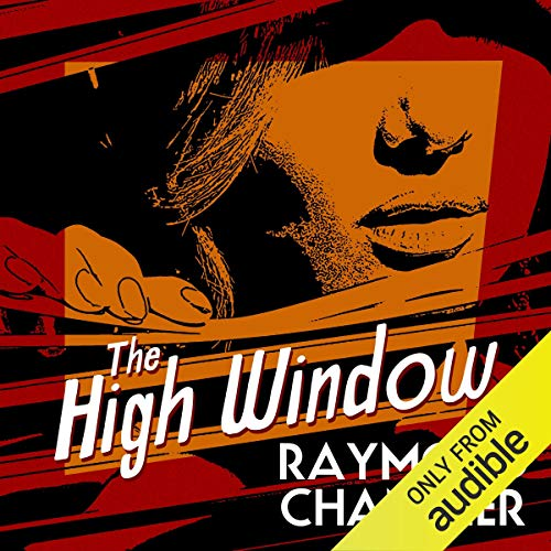 The High Window  By  cover art