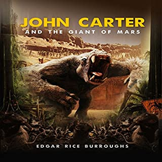 John Carter and the Giant of Mars cover art