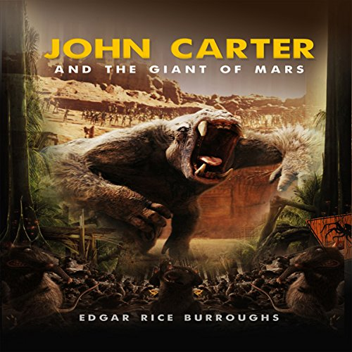 John Carter and the Giant of Mars audiobook cover art
