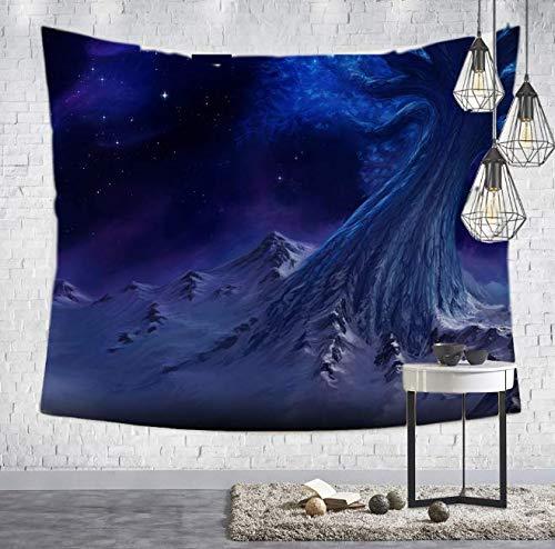 Style esthétique Impression Tapisserie Maison décoration Murale Chambre Salon tenture tenture Tapis Plage Tow Decor décoration de Chambre 150 * 230 cm
