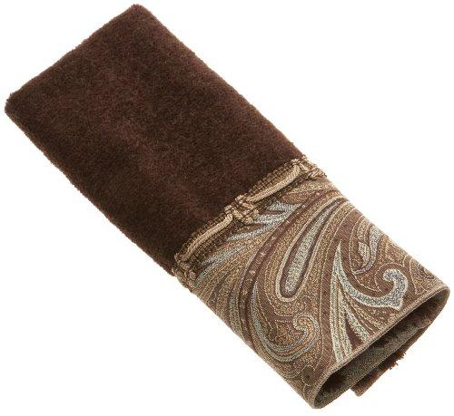Avanti Linens Bradford Fingertip Towel, Java