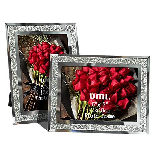 UMI. Essentials Bilderrahmen 13x18cm aus Glas, 2er Set
