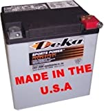 Deka AGM Battery ETX-30L Fits Select Harley Davidson Motorcycles …