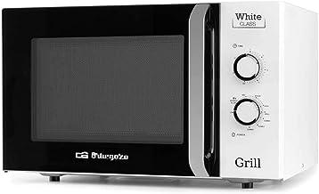 Orbegozo MIG 3021 - Microondas con grill, 30 L de capacidad, 5 niveles de potencia microondas, 3 niveles combi, temporizador, programa de descongelación