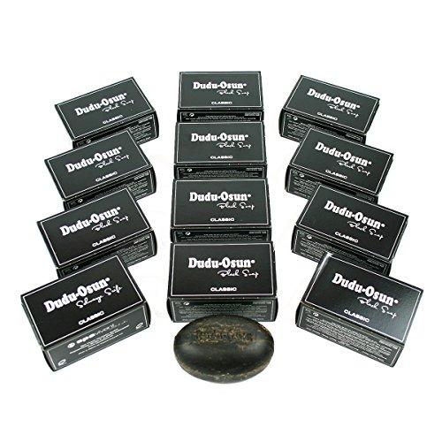 12er Pack Dudu Osun - Schwarze Seife aus Afrika Original Black Soap 12x150g