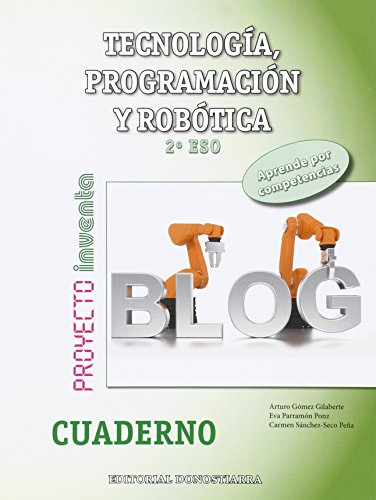 Cuaderno Tecnología, Programación y Robótica 2º ESO - 9788470635472