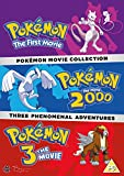 Pokemon Triple Movie Collection: Movies 1-3 [DVD] [Region2] Requires a Multi Region Player