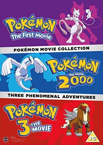 Pokemon Triple Movie Collection: Movies 1-3 [DVD] [UK Import]