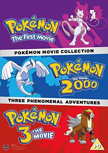 Pokemon Triple Movie Collection: Movies 1-3 [DVD] [UK Import]