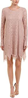 BCBG Max Azria Womens Marae Lace A-Line Cocktail Dress