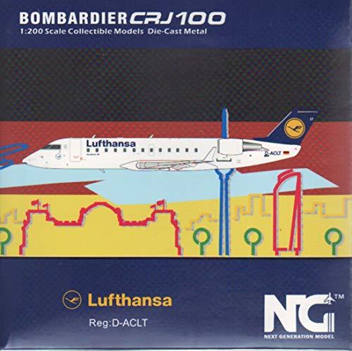 NG Model NGM51012 1:200 Lufthansa CRJ-100LR Reg #D-ACLT (pre-Painted/pre-Built)