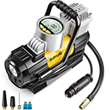 AstroAI Portable Air Compressor Pump, Digital Tire Inflator, Compresseur Voiture, 12V DC Electric