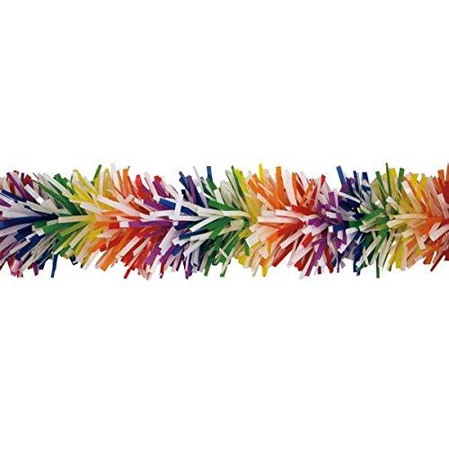 TCDesignerProducts Metallic Rainbow Twist Garland - 4 Inches x 25 Feet Long