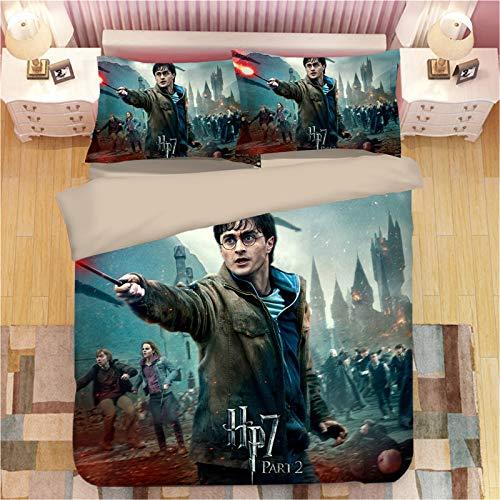 Lufria Juego de Cama mágico Harry Potter and Partners - con Funda...