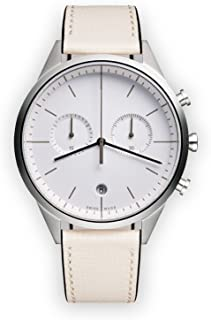 Uniform Wares Women's C39_PSI_W1_CGR_MIS_1816S_01 Year Round Analog Quartz Off-White Watch