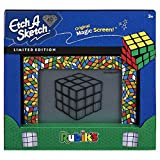 Etch A Sketch Classic, Rubik's Cube Limited-Edition Drawing Toy with Magic Screen, for Ages 3 and Up