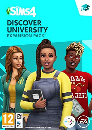 The Sims 4 - Discover University [Expansion Pack 8] Standard | PC Code - Origin