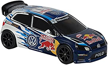 Majorette Volkswagen Polo 5 WRC 3-inch Toy Car