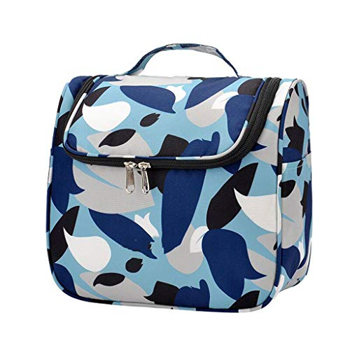 Voyage Cosmétique Sac De Stockage Imperméable À l'eau Multi-Fonction Grande Capacité Portable d'affaires Simple Lavage Universel 3 Couleur 24 * 12 * 20cm MUMUJIN (Color : Blue)