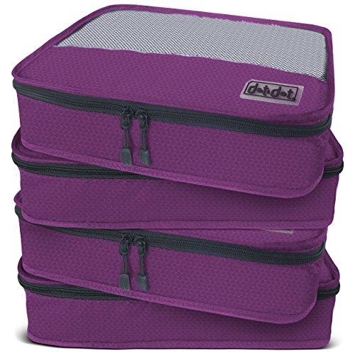 Punto y Punto Medio cubos de embalaje para viajes–4piezas de accesorios de equipaje organizadores