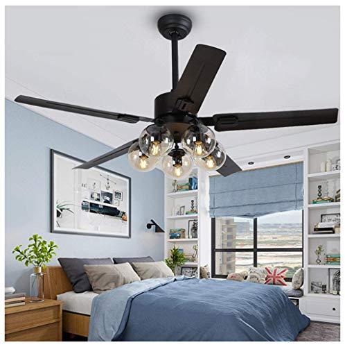Kroonluchter moderne minimalistische hanger licht nordic ventilator plafond verlichting magische bonen ijzeren blad restaurant Hang lamp plafond ventilator licht