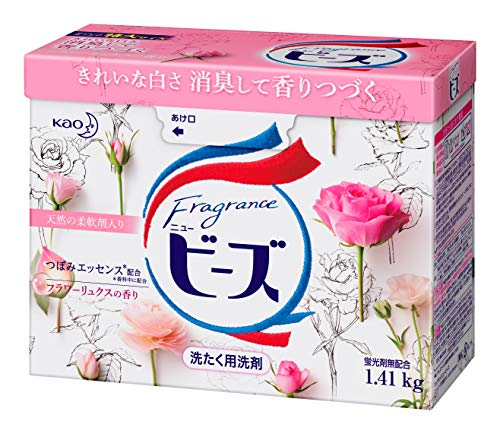 花王『フレグランスニュービーズ 柔軟剤入り粉末洗剤』