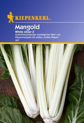 Sperli Gemüsesamen Mangold, weiß/silber/grün