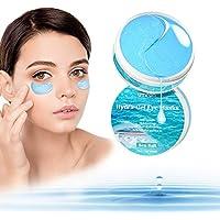 UMRAN Anti-Aging Under Eye Mask, Hyaluron & Collagen Under Eye Gel Pads for Puffiness