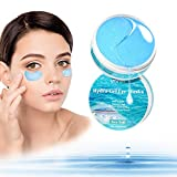 UMRAN Under Eye Patches, Anti-Aging Under Eye Mask, Hyaluron & Collagen Under Eye Gel Pads for Puffiness, Wrinkles, Dark Circles - Deep Moisturizing Improves Elasticity with Sea Salt 60pcs / 30pairs