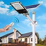 Luz De Calle Led Solar 10W ~ 200W Iluminación De Seguridad De...