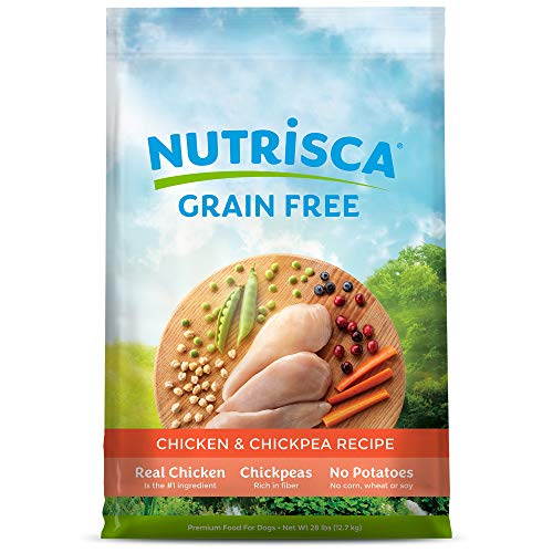 Nutrisca Grain-Free Chicken & Chickpea Recipe A