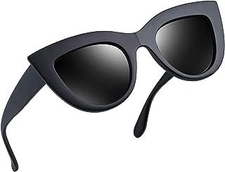 Retro Polarized Cateye Sunglasses - Women Vintage Cat Eye Sun Glasses UV400 Protection E8022