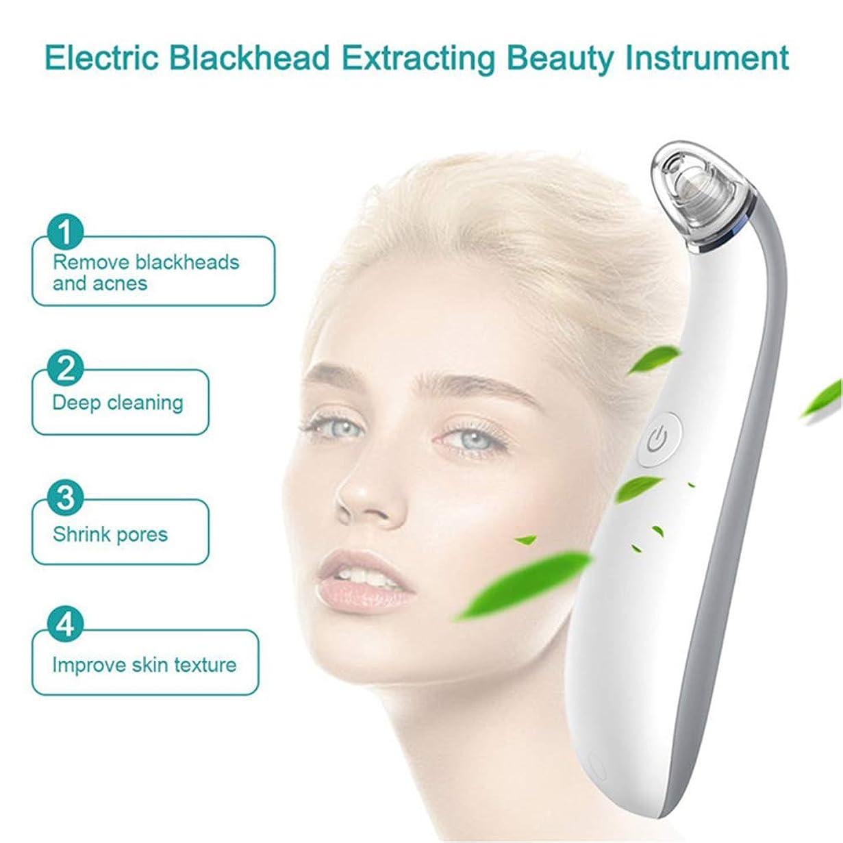 オペラ見込み計器気孔の真空の深くきれいな、皮膚健康のための電気顔の安定した吸引のスキンケア用具4取り替え可能な吸引の頭部USB再充電可能