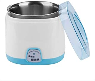 WGNHM Automatic Yogurt Machine-Automatic Yogurt Maker Machine Jars Customize to Your Flavor and Thickness (Color : Blue)