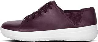 Fit Flop Women's F-Sporty Laceup Sneaker Trainers, Purple (Deep Plum 398), 3 UK 3 UK