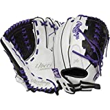 Rawlings Liberty Advanced Color Sync 2.0 12.5' Fastpitch Softball Glove - White/Purple - Right Hand Throw