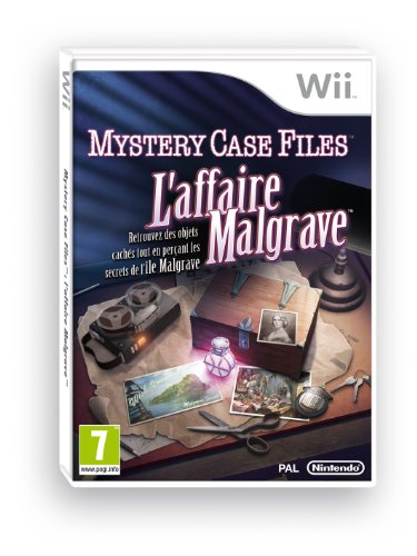 Nintendo  Mystery Case Files: The Malgrave Incident, Wii