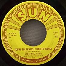 The Ways of a Woman In Love / You're The Nearest Thing To Heaven { Sun Records 302 } [ 7 inch VINYL single. 45 rpm ]