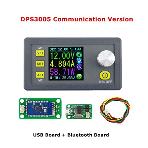 Topker DPS3005 USB Bluetooth Kommunikation Konstantspannung Strom Step-down-Netzteil Modul Supply Module,Voltage Spannungswandler LCD Voltmeter