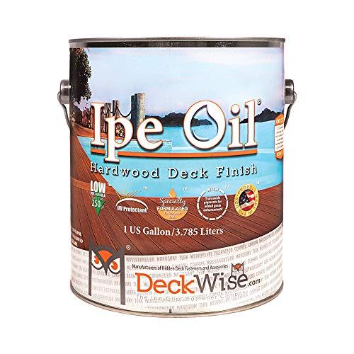 DeckWise Ipe Oil Hardwood Deck Semi-Transparent 250 VOC Natural Finish (1-Gallon)