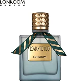 LONKOOM Perfume EDT Leather Aroma Eau De Toilette Green Oud Perfumes Anti-bacterial Spray Fragrance For Men 100ml