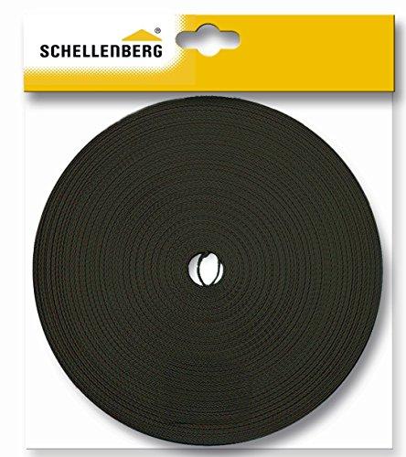 Schellenberg 86004 - Correa de persiana (18mm, 6m), color marrón