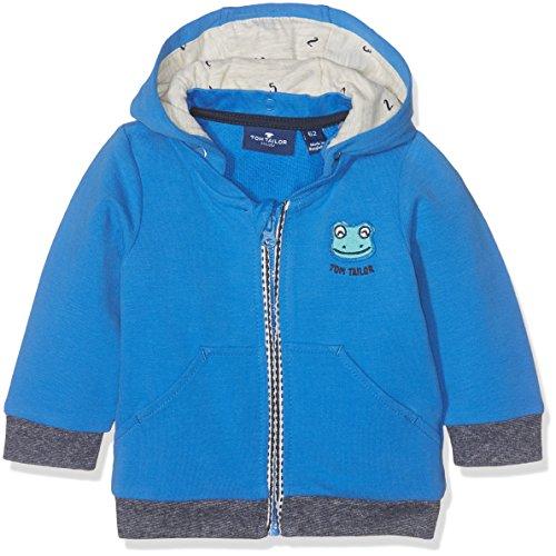 TOM TAILOR GmbH TOM TAILOR Kids Baby-Jungen Detachable Hood Jacket Kapuzenpullover, Blau (Medium DEEP Sky Blue 6993), 68