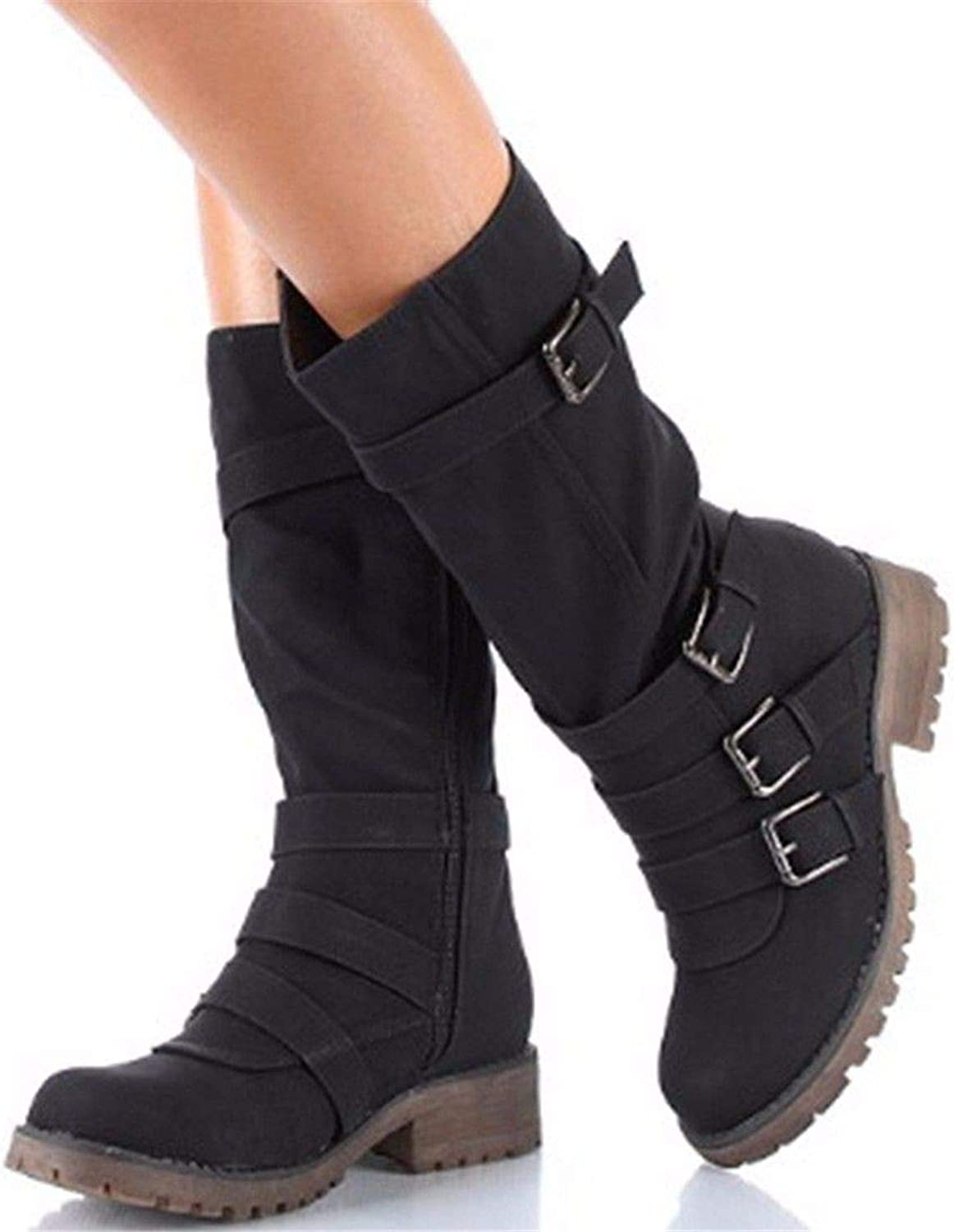 European and American Fashion Winter Long Canister Boots
