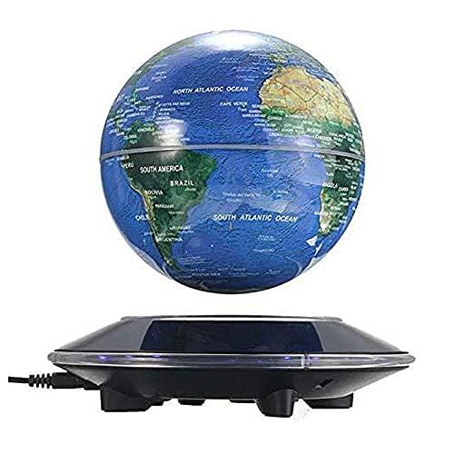Globo flotante magnético de 6 pulgadas, levitación antigravedad rotatorio del mundo para niños, regalo educativo en casa, oficina, escritorio decoración