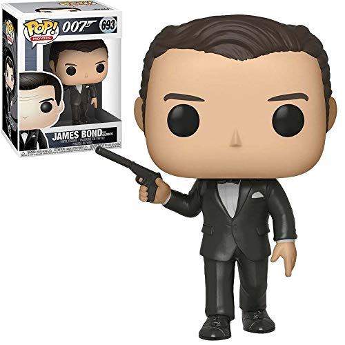 Funko Pop! Movies: 007 - James Bond (Pierce Brosnan) from Goldeneye 693 Vinyl Figure, Multicolor, Talla Única