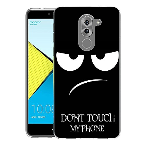 Huawei Honor 6X Custodia Cover, FoneExpert® Silicone Caso Molle di TPU Sottile Anti Scivolo Case Posteriore Della Copertura Per Huawei Honor 6X