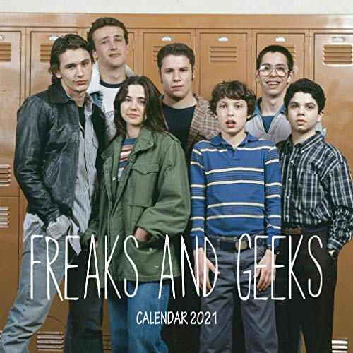 Freaks and Geeks: Calendar 2021 in mini size 7''x7'' with high quality images of your favorite TV Shows!
