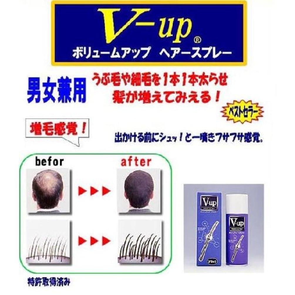 溶かす箱同時V-アップヘアスプレー200g【カラー:ダークブラウン】