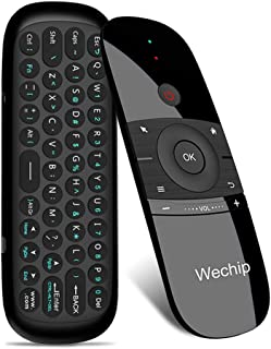 Wechip 2.4G Smart TV Wireless Keyboard Fly Mouse W1 Multifunctional Remote Control for Android TV Box/PC/Smart TV/Projecto...